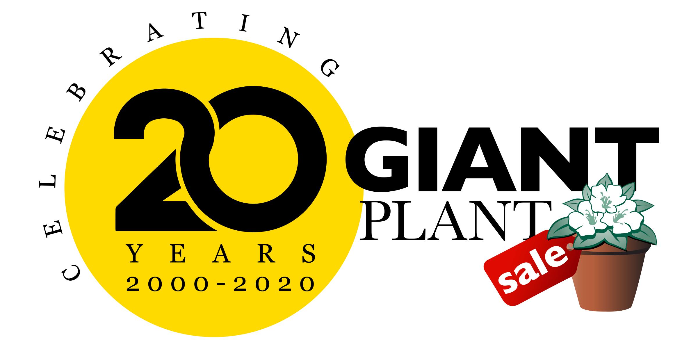 Giant Plant Sale